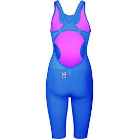 arena Powerskin R-Evo One Swimsuit Dame blue/powder pink